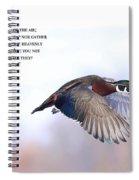 Look At The Birds Spiral Notebook