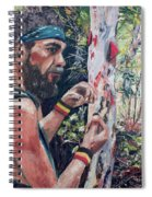 Look Into Another Dimension Spiral Notebook