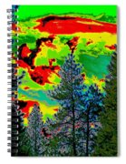 Look Into The Future 2 Spiral Notebook