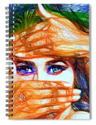 Look Out Of The Box Spiral Notebook