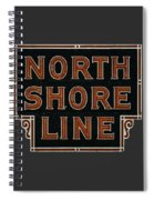 Look To The North Spiral Notebook