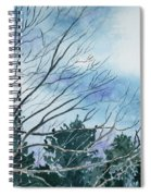 Look To The Sky Spiral Notebook