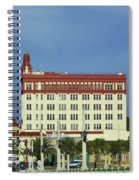 Looking Back At St Augustine Spiral Notebook