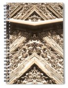 Looking Both Ways Down The Train Tracks Spiral Notebook