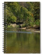 Looking Down Bryant Creek Spiral Notebook