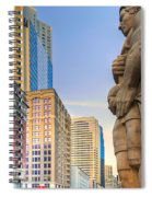 Looking Downtown Spiral Notebook