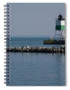 Looking Far Spiral Notebook