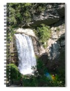 Looking Glass Falls Nc Spiral Notebook