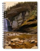 Looking Glass Falls Pisgah National Forest 2 Spiral Notebook