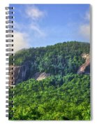 Looking Glass Rock Close Up Spiral Notebook