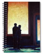 Looking In Looking Out Spiral Notebook
