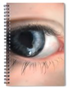 Looking Into The Beyons Spiral Notebook