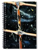 Looking Into The Night Spiral Notebook