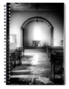 Looking Into The Past Spiral Notebook