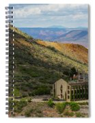 Looking Out Over The Hills Spiral Notebook