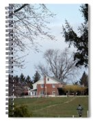 Looking Out Over The Horse Farm Spiral Notebook