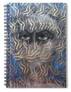 Looking Through Fire Spiral Notebook