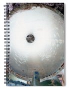 Looking Thru A Pipe...negative Spiral Notebook