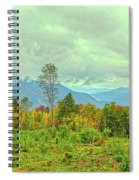 Looking To The Mountains Spiral Notebook