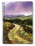 Looking Towards Pole Moor Spiral Notebook