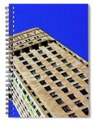 Looking Up At The Foshay Tower Spiral Notebook