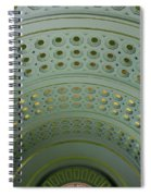 Looking Up In Union Station -- A Westward View Spiral Notebook