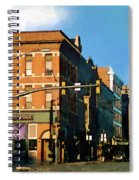 Looking Up Main Street Spiral Notebook