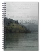 Lookout Point Lake Spiral Notebook
