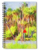 Loop Mile Marker 26 Spiral Notebook