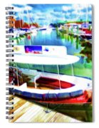 Loose Cannon Water Taxi 1 Spiral Notebook