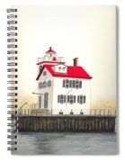 Lorain Lighthouse Spiral Notebook