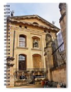 Lord Clarendon's Statue, Clarendon Building, Oxford Spiral Notebook