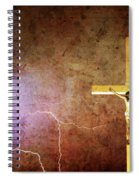 Lord Have Mercy - Crucifixion Of Jesus -2011 Spiral Notebook