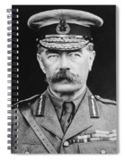 Lord Herbert Kitchener Spiral Notebook