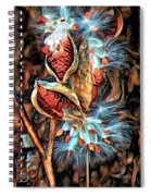 Lord Of The Dance - Paint Spiral Notebook