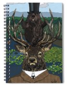 Lord Of The Manor With Hidden Pictures Spiral Notebook