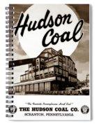 Loree Colliery Larksville Pa. Hudson Coal Co  Spiral Notebook