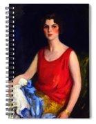 Loretta Hines Howard Spiral Notebook