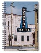 Lorraine Hotel Sign Spiral Notebook