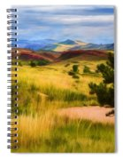 Lory State Park Impression Spiral Notebook