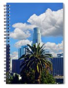 Los Angeles And Palm Trees Spiral Notebook
