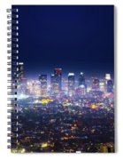 Los Angeles By Night Spiral Notebook