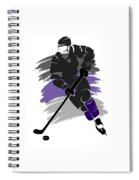Los Angeles Kings Player Shirt Spiral Notebook