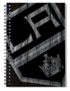Los Angeles Kings Wood Fence Spiral Notebook