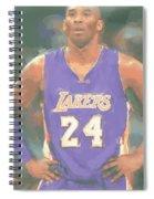 Los Angeles Lakers Kobe Bryant 2 Spiral Notebook