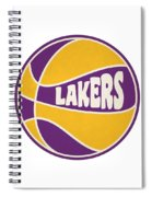 Los Angeles Lakers Retro Shirt Spiral Notebook