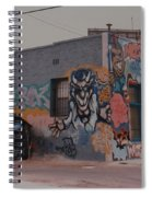 Los Angeles Urban Art Spiral Notebook