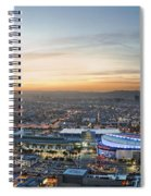 Los Angeles West View Spiral Notebook