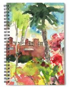 Los Gigantes In Tenerife 03 Spiral Notebook
