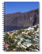 Los Gigantes In Tenerife Spiral Notebook